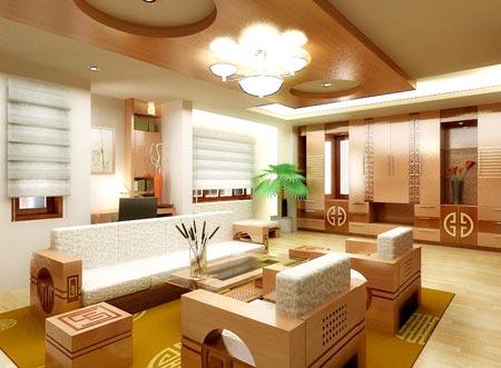 Nội thất gỗ sang trọng cho nhà đẹp